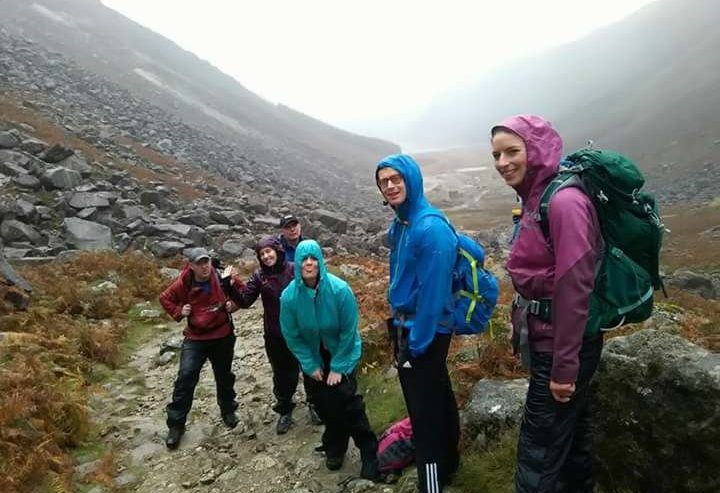 Great hike in the rain on the Glendalough Spinc Trail