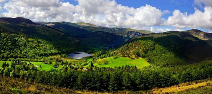 Find The Soul. Golden Hills Of Wicklow. Ireland by Jenny ... |Wicklow Hills Ireland